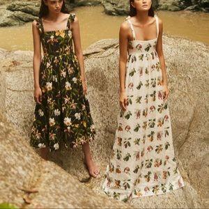 Agua Bendita Verbena Maxi Dress in Frutas Fruit